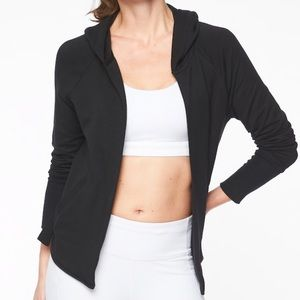 Athleta Clarity Cinch Cardigan Black